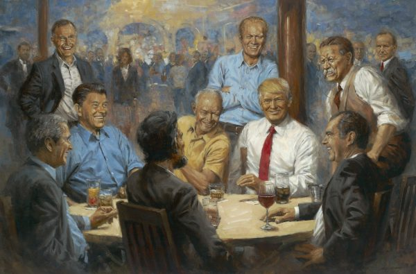The Republican Club by Andy Thomas | Trump | Bush | Reagan | Presidents