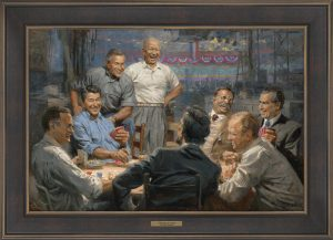 Grand ol' Gang by Andy Thomas - 204 - 20x30 Gallery Espresso Framed
