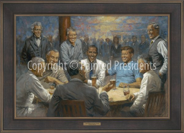 The Democratic Club by Andy Thomas - 211 - 20x30 Gallery Espresso Framed